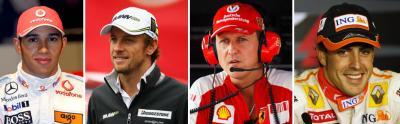 F1 2010, el campeonato de los campeones